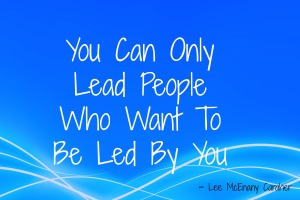 you can only lead 2